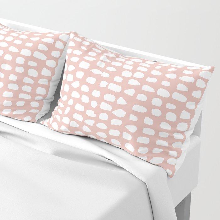 Dots (Pink) Pillow Sham