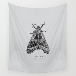 Cabbage Moth [Mamestra brassicae] Wall Tapestry