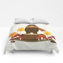 Woodland Bear Comforters