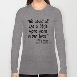 Fan-favorite Fitz Quote Langarmshirt