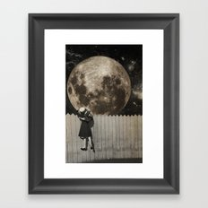 untitled Collection -- Backyard Framed Art Print