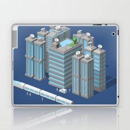 Modern city Laptop & iPad Skin