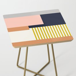 Sol Abstract Geometric Print in Multi Side Table