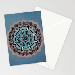 Round Colorful Design Stationery Cards