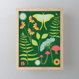Woodland Forest Framed Mini Art Print