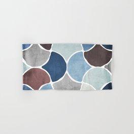 Moroccan Blues Hand & Bath Towel