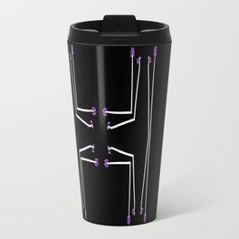 Stamen Abstract  Travel Mug