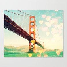 Golden Gate Bokeh Canvas Print