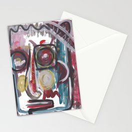 Abastract portrait 17 Stationery Cards