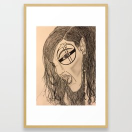 Berserker Framed Art Print