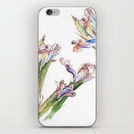 Dying Iris iPhone Skin