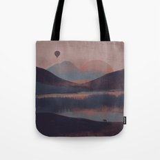 Adrift in the Mountains... Tote Bag