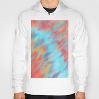 tie dye Hoodies featuring Tie Dye Mishap by Christina Dugger
