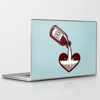 fitzgerald Laptop & iPad Skins featuring F. Scott Fitzgerald by Kip Noschese