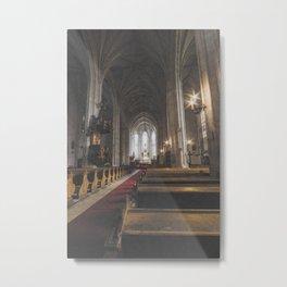 St Michael Roman Catholic Church Cluj Napoca Romania Koloszvar Metal Print