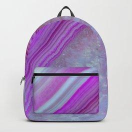 Pink Bubblegum Agate Backpack