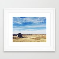 oklahoma Framed Art Prints featuring Oklahoma  by Cynthia Mixon Photo