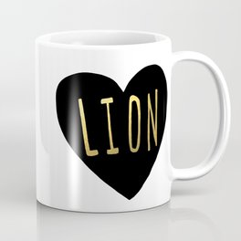 Lion Heart Coffee Mug