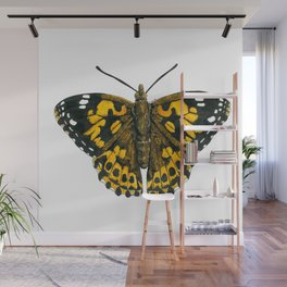 Painted lady butterfly Wall Mural