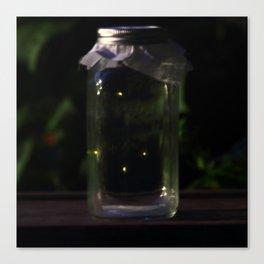 Catching Fireflies Canvas Print