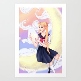 Serena Art Print