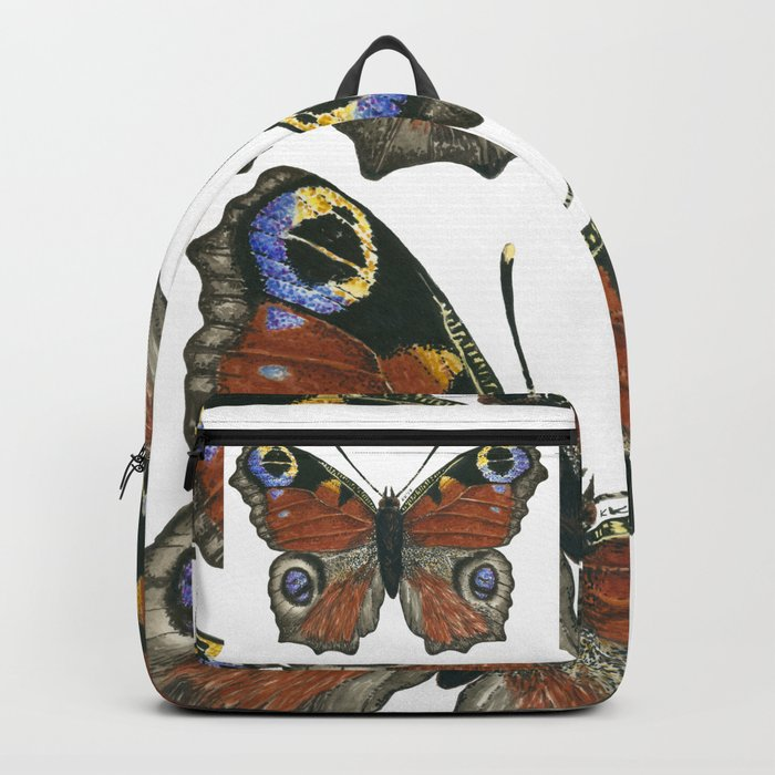 Peacock butterfly Backpack