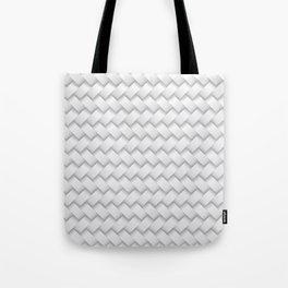 woven white Tote Bag