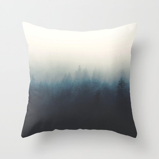 Your memory haunts me Throw Pillow