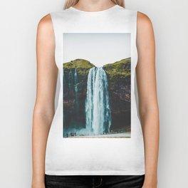 The Waterfall (Color) Biker Tank