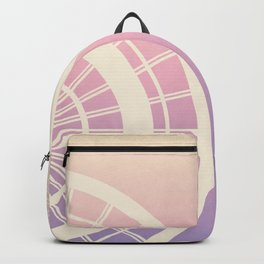 Wheels on colorful background Backpack