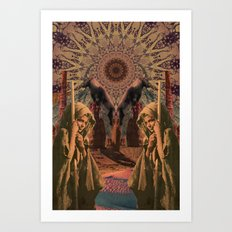 40 Days Art Print