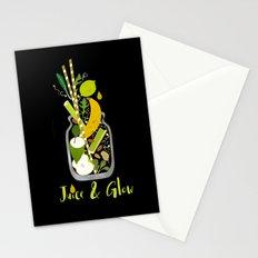 Juice & Glow Stationery Cards