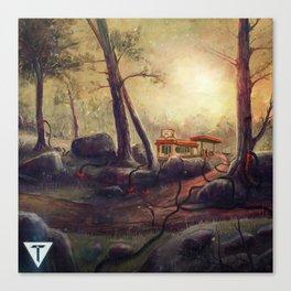 Trove EP w logo Canvas Print