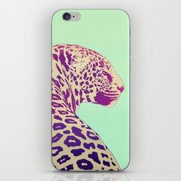 Leopard under the Sun iPhone Skin