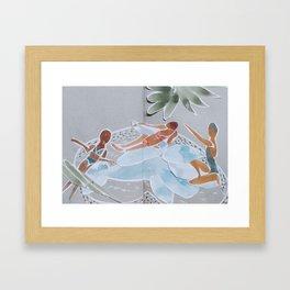 Inflatable Pool Framed Art Print