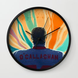 O'Callaghan Comes Out Wall Clock