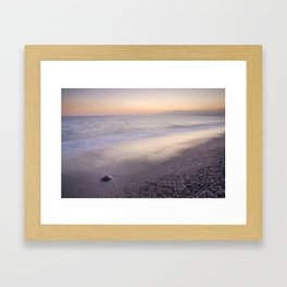"""Amoladeras beach"" Framed Art Print"