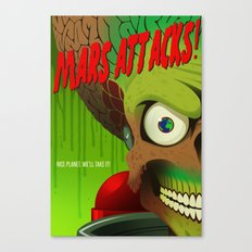 Mars Attacks! Alternative Movie Poster Canvas Print