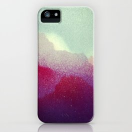 Spray Clouds iPhone Case