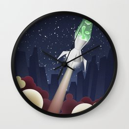Way Out-ta Space!!!! Wall Clock