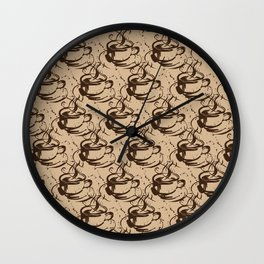 Java Love by Kathy Morton Stanion Wall Clock
