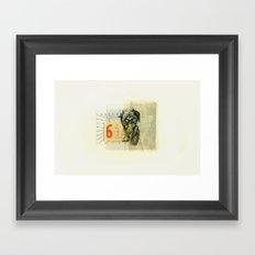 61 Framed Art Print