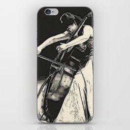violoncello iPhone Skin