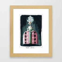 Madame Carnivale Framed Art Print