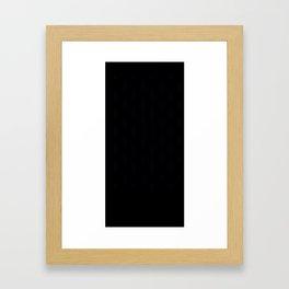 Milk Cartons (Grey)  Framed Art Print
