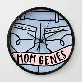 Mom Jeans Wall Clock