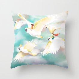 Safe Travels Throw Pillow