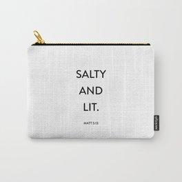 Salty and Litt Matt Carry-All Pouch
