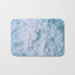 Snow #3 Bath Mat