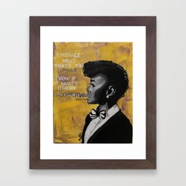 Monae Framed Art Print